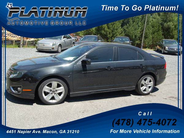 2012 Ford Fusion Sport Sedan Platinum Automotive Group Llc